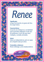 Nombre Renee