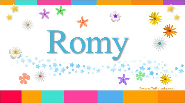 Romy, imagen de Romy
