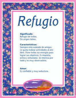 Nombre Refugio