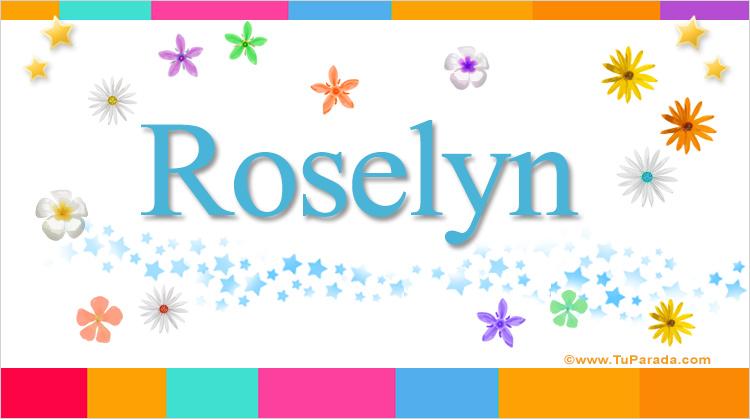 Roselyn, imagen de Roselyn