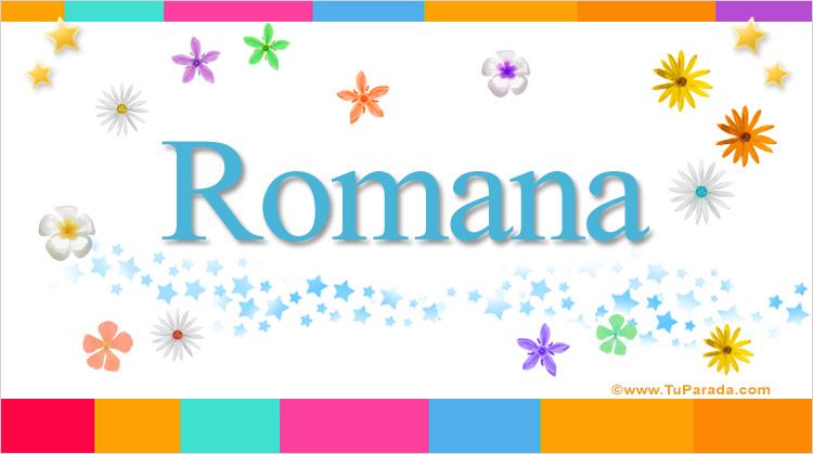 Romana, imagen de Romana