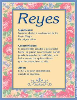 Nombre Reyes