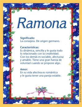Nombre Ramona