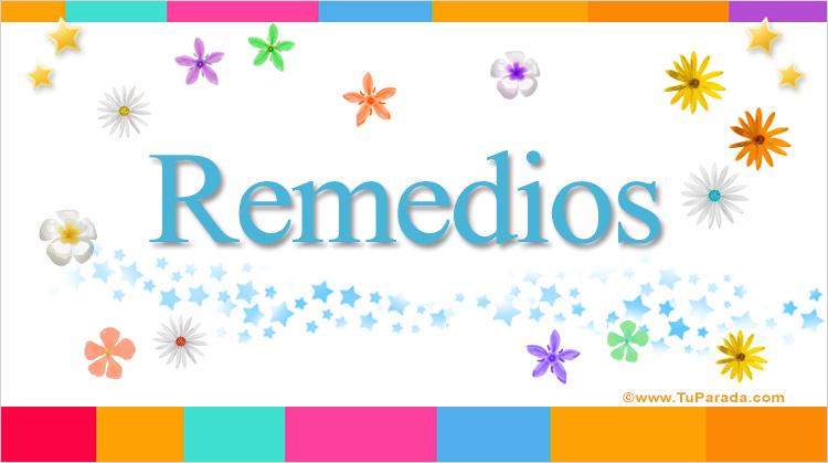 Remedios, imagen de Remedios