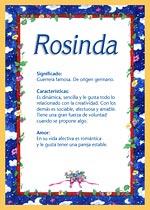 Nombre Rosinda
