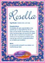 Nombre Rosella
