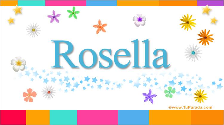 Rosella, imagen de Rosella