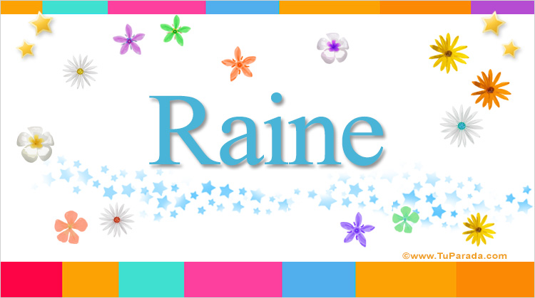 Raine, imagen de Raine