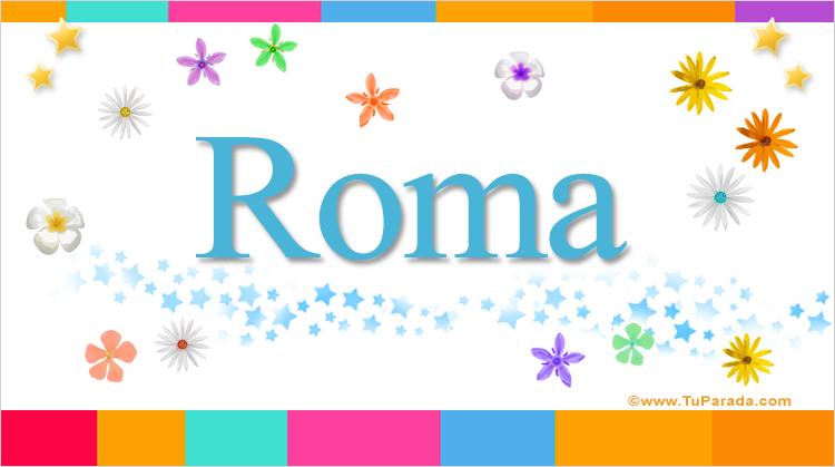 Roma, imagen de Roma