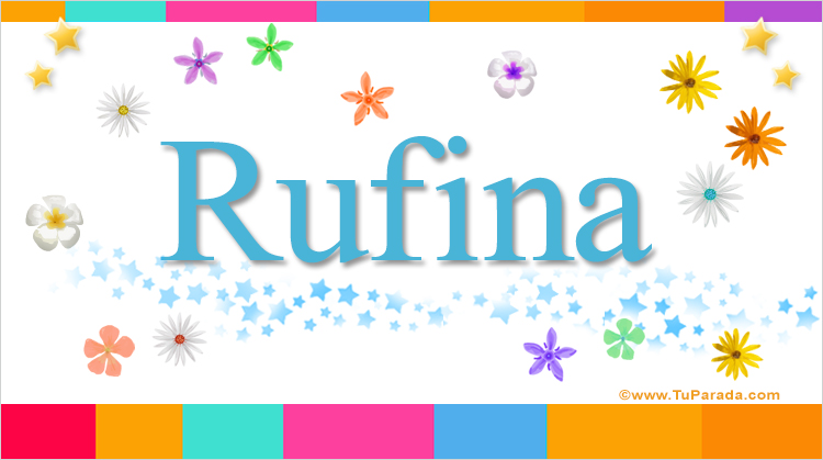 Rufina, imagen de Rufina