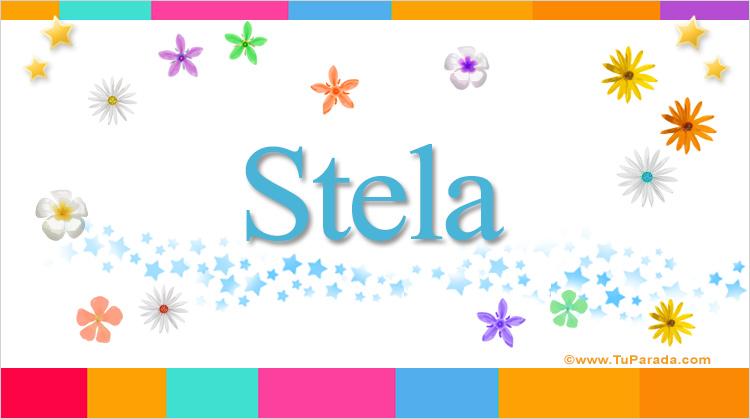 Stela, imagen de Stela