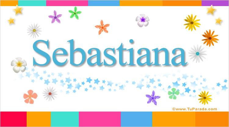 Sebastiana, imagen de Sebastiana