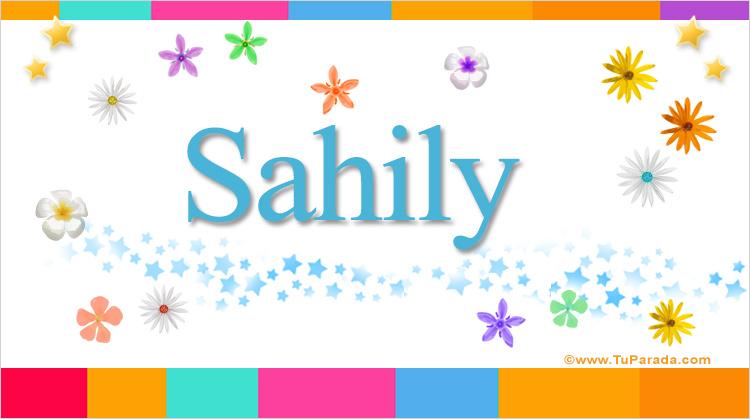 Sahily, imagen de Sahily