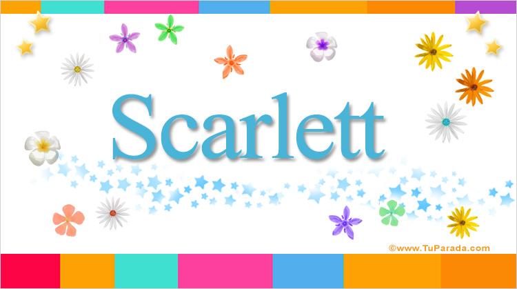 Scarlett, imagen de Scarlett