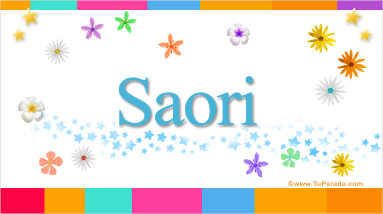 Saori, imagen de Saori