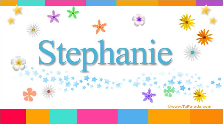 Stephanie, imagen de Stephanie