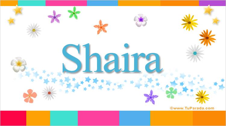 Shaira, imagen de Shaira