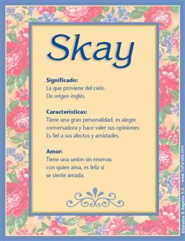 Nombre Skay