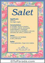 Salet