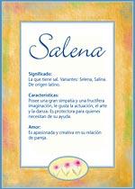 Nombre Salena