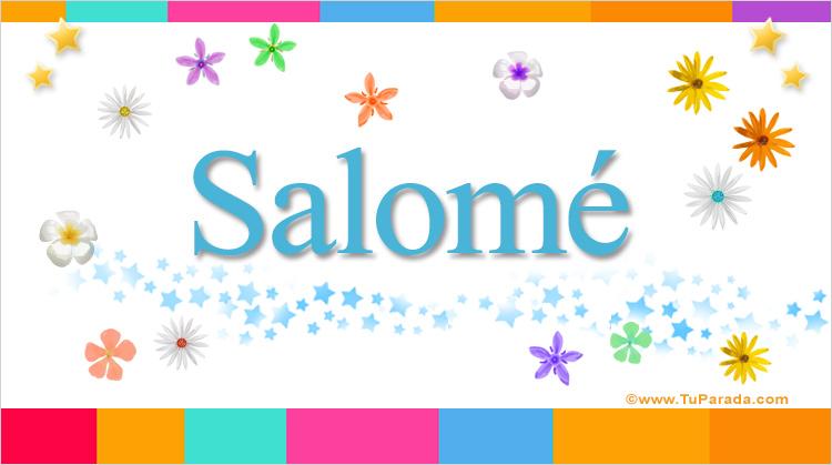 Salomé, imagen de Salomé
