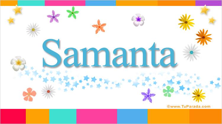 Samanta, imagen de Samanta