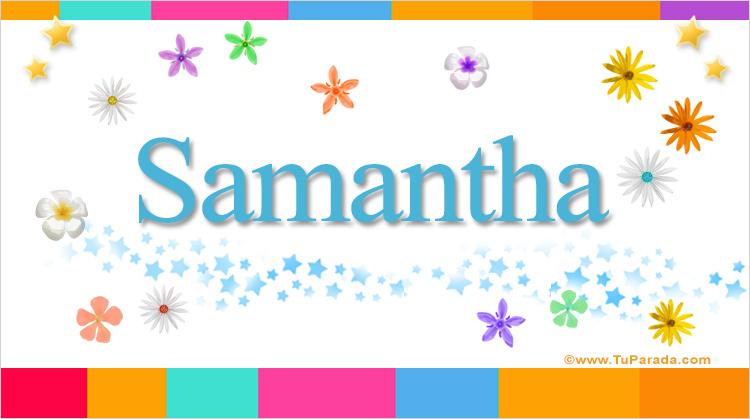 Samantha, imagen de Samantha