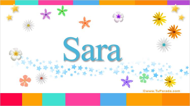 Sara, imagen de Sara