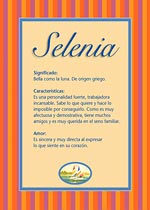 Nombre Selenia