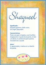 Nombre Shaqueel