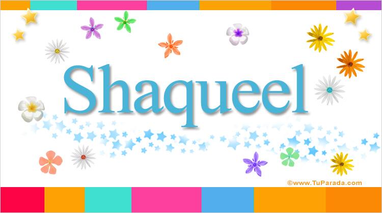 Shaqueel, imagen de Shaqueel