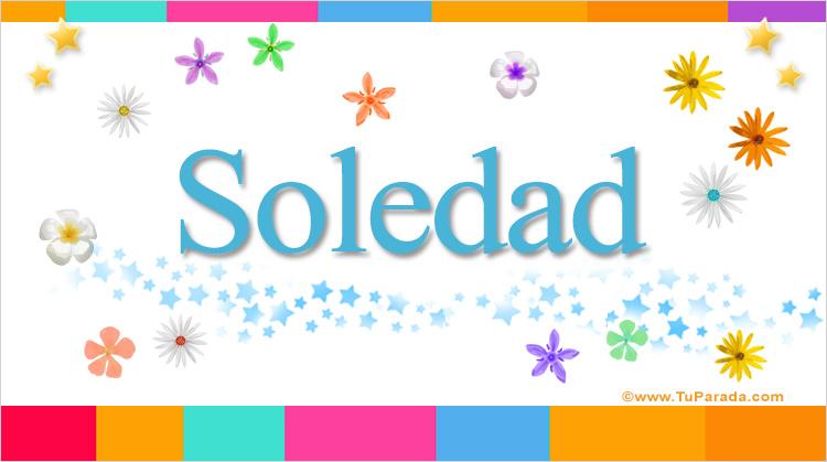 Soledad, imagen de Soledad