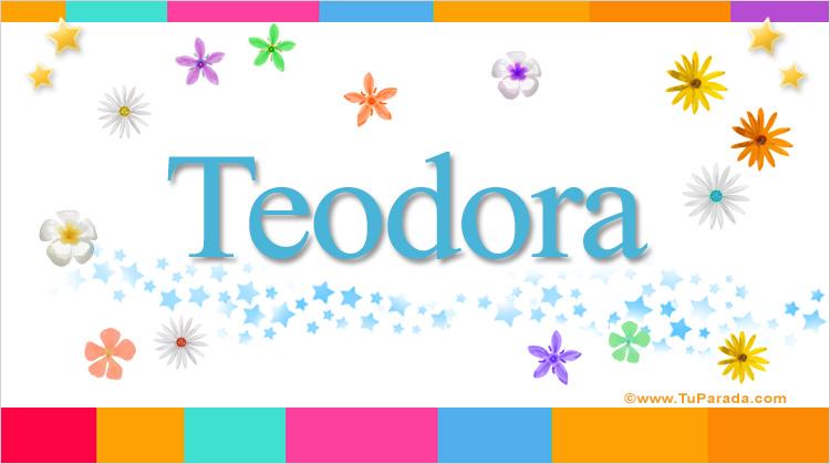 Teodora, imagen de Teodora