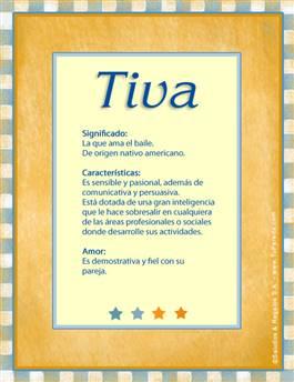 Nombre Tiva