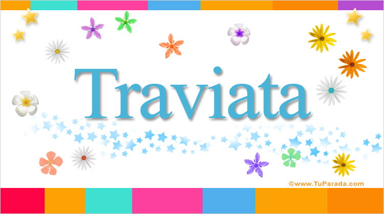 Traviata, imagen de Traviata