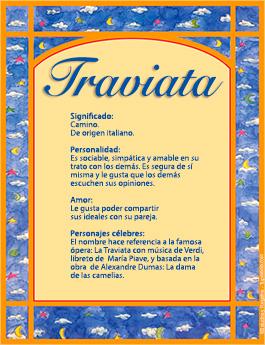 Nombre Traviata