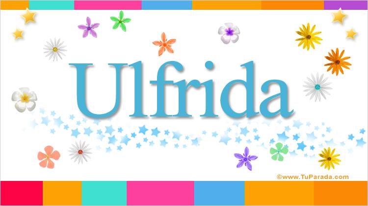Ulfrida, imagen de Ulfrida
