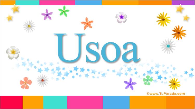 Usoa, imagen de Usoa