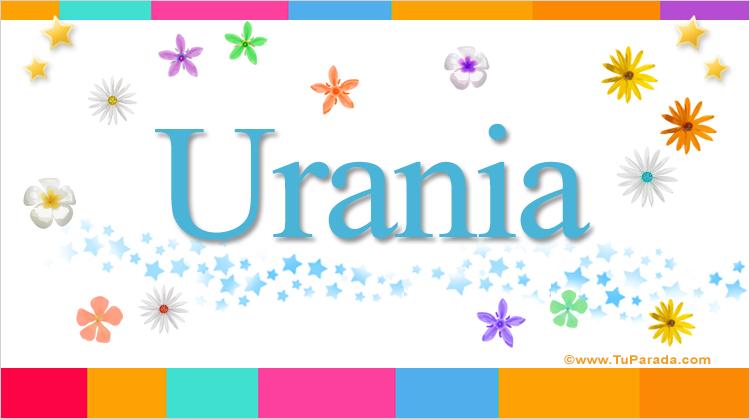 Urania, imagen de Urania