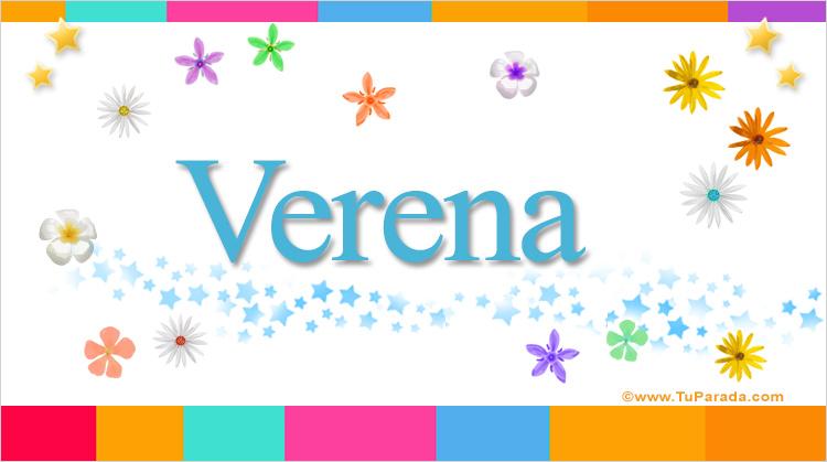 Verena, imagen de Verena