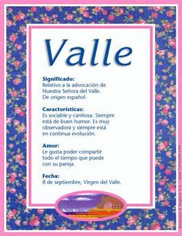 Nombre Valle