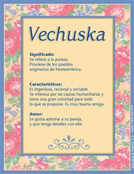 Nombre Vechuska