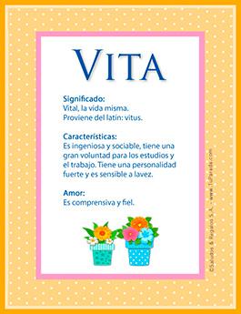 Nombre Vita