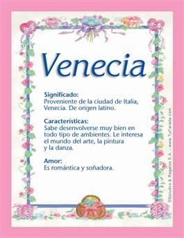 Nombre Venecia
