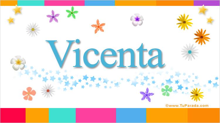 Vicenta, imagen de Vicenta