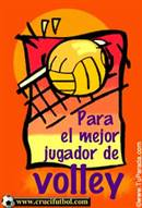 Para el mejor jugador de Volley.