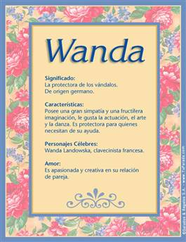 Nombre Wanda