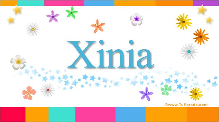 Xinia, imagen de Xinia