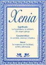 Nombre Xenia