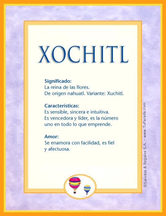 Xochitl X Tarjetas